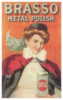 Brasso Metal Polish Vintage Print