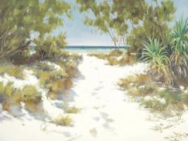 Beach Path by Raelean Hall