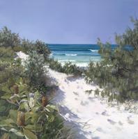 Coastal Dunes by Raelean Hall