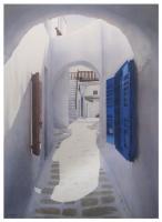 Mykonos, 1984 by Evelyne Brigeois