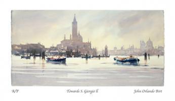 Towards S. Giorgio ll by John Orlando - Birt