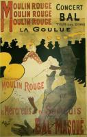 Moulin Rouge by Henri-Marie-Raymond de Toulouse-Lautrec