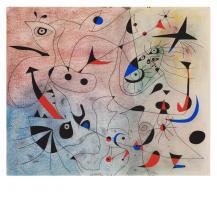L'estel matinal, 1940 by Joan Miró