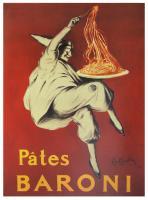 Pates Baroni, 1921 by Leonetto Cappiello
