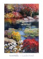 Garden Pond by Kent Wallis