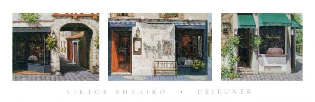 Paris Rendezvous, Bon Vivant Tavern, Village Corner by Viktor Shvaiko