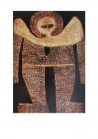 Woonambal Wandjina, 1980 by Alec Mingelmanganu