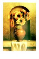 Sunflowers by Loran Speck