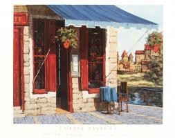 Greek Tavern by Viktor Shvaiko