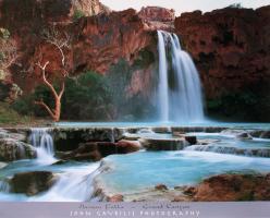 Havasu Falls - Grand Canyon by John Gavrilis