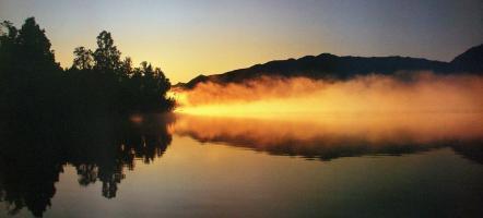 Lake Fire by Nathan Secker