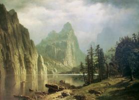 Merced River, Yosemite Valley,by Albert Bierstadt