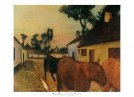 The Return of the Herd by Edgar Degas