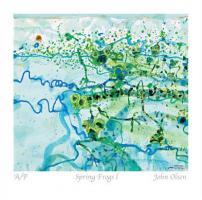 Spring Frogs l by John Olsen