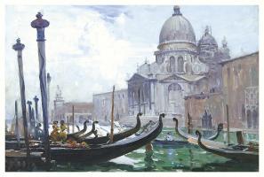 Santa Maria della Salute, 1908 by Arthur Streeton