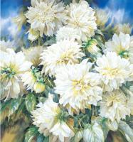 Dazzling Dahlias by Darryl Trott